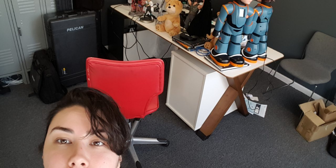 How cool is it that I can say I work with Robots!